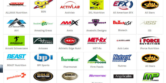Top supplement brands