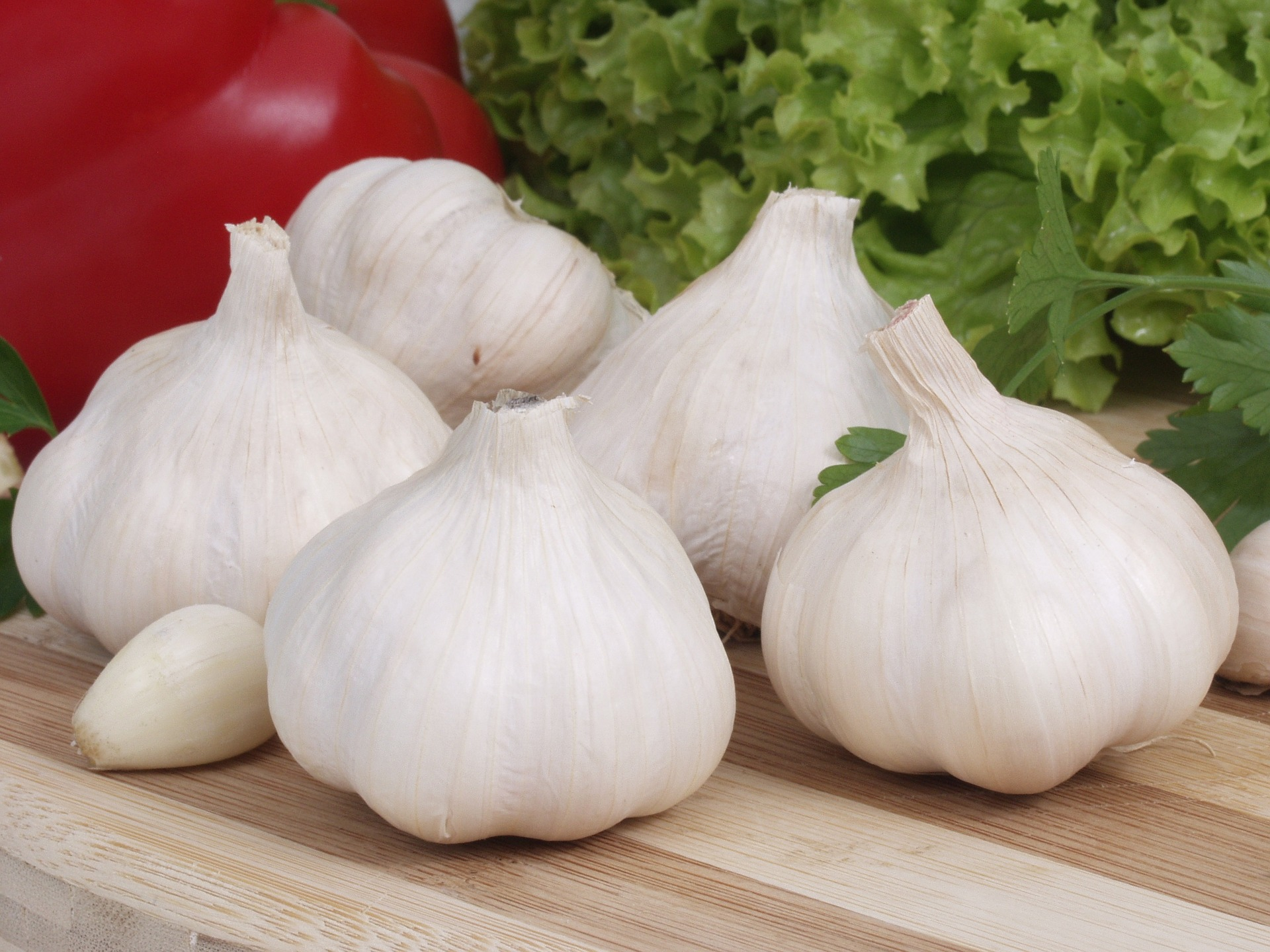 L'aglio è un buon alimento per prevenire la ritenzione idrica