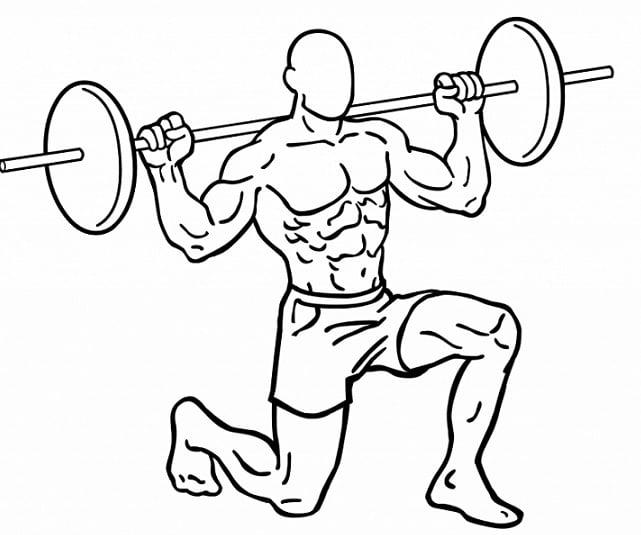 Dynamische lunge is een zeer veeleisende en veelzijdige benenoefening