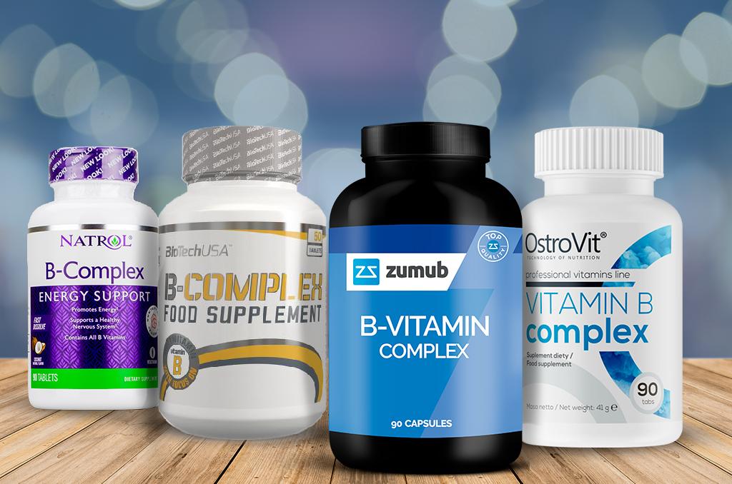 vitamines du complexe B - zumub
