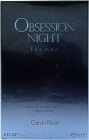 Obsession Night voor Mannen EDP125ml