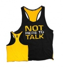 Dedicated T-shirt Stringer `Not here to Talk´