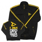 Vintage Track Jacket Black and Yellow
