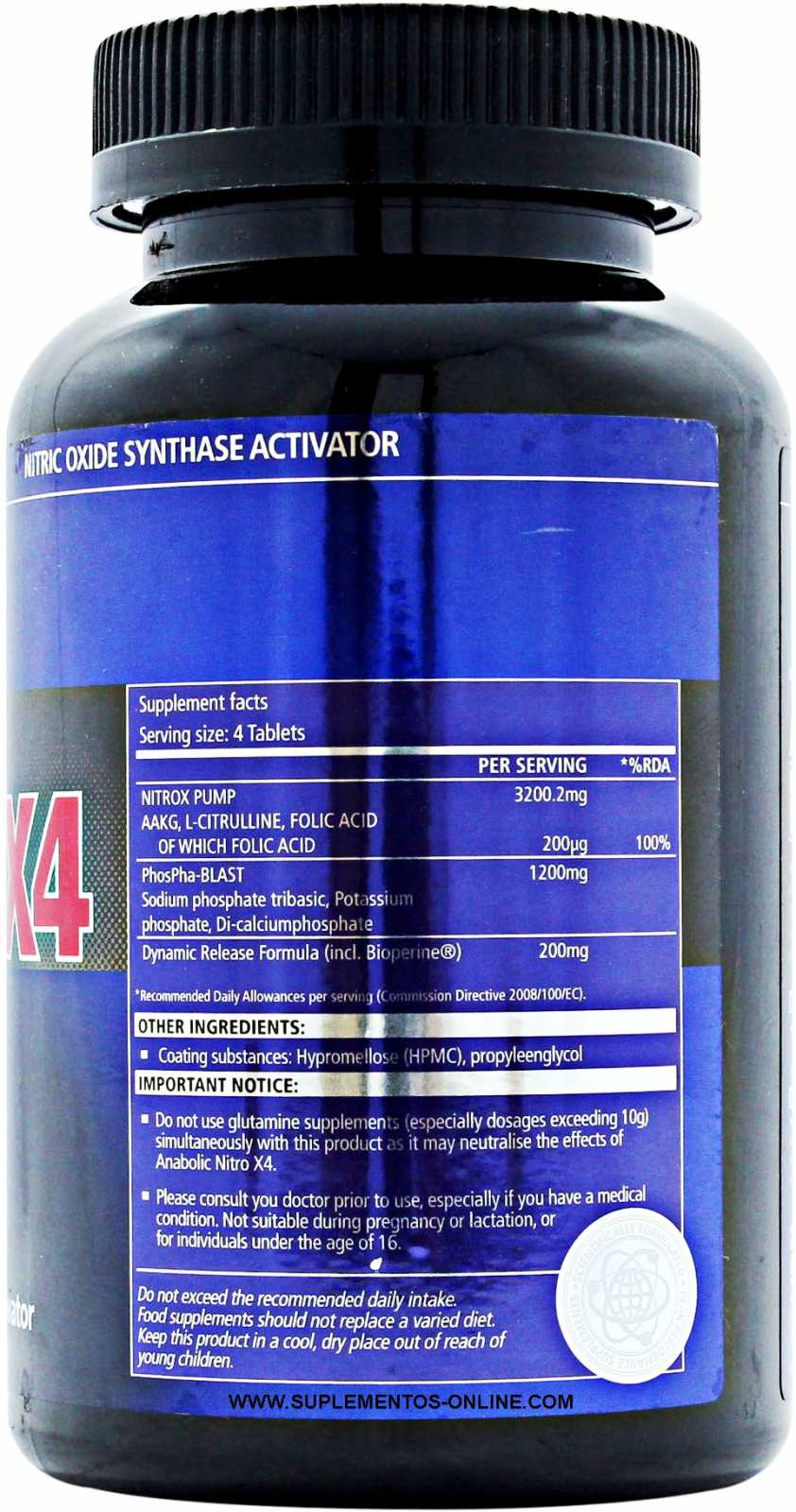 usn anabolic nitro x ingredients