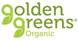 Golden Greens Organic logo