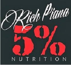 Rich Piana 5% Nutrition logótipo