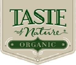 Taste of Nature organic logo