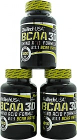 Biotech BCAA 3D ingredientes