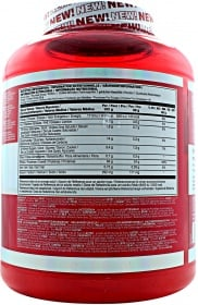 BSN Syntha 6 Edge nutrition label