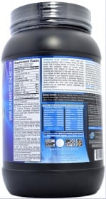 Dymatize Elite Casein nutrition label