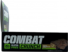 Muscle Pharm Combat crunch bars side