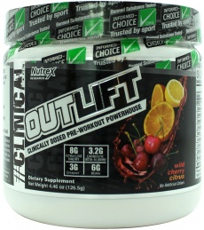 Nutrex Outlift ouvert
