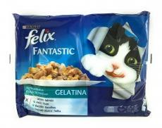 Purina Felix Fantastic Gelatine Vis Selectie