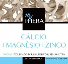 Theralab Cálcio + Magnésio + Zinco