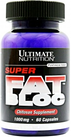 Ultimate Nutrition Super Fat Bloc 500mg Chitosan