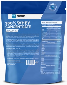 Zumub 100% Whey Concentrate ingredientes
