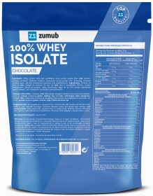 Zumub 100% Whey Isolate info