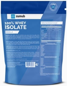 Zumub 100% Whey Isolate box