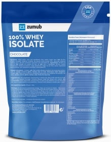 Zumub 100% Whey Isolate ingredients