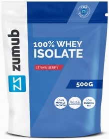Zumub 100% Whey Isolate open