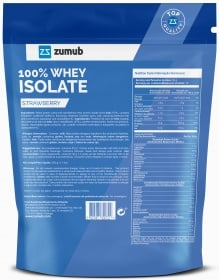 Zumub 100% Whey Isolate outside