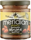 Smooth Organic Almond Butter w/ salt 170g