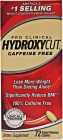 Hydroxycut Clinical Caffeine Free 72 caplets