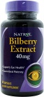 Bilberry Extract 40mg 60 capsules