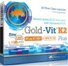 Gold-Vit K2 Plus 30 cápsulas