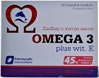 Omega 3 plus Vitamin E 120 caps