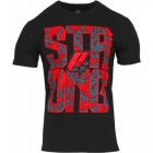 T-Shirt STRONG Black and red