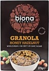 Organic Honey Hazelnut Granola 375g