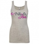 Tank Top NLA for Her Grigio