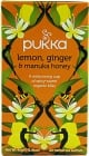 Organic Lemon, Ginger & Manuka Tea 20 Tea Bags