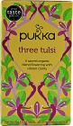 Organic Three Tulsi Tea 20 Tea Bags