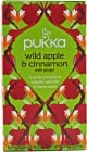 Organic Wild Apple & Cinnamon with Ginger 20 Saquinhos de chá