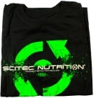 T-shirt Scitec Green 96 Black