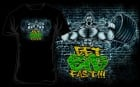 T-shirt Scitec Get Big Fast Black