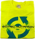 T-shirt Scitec Neon Yellow 96