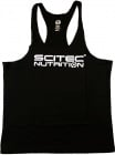 Racerback Black Tank Top