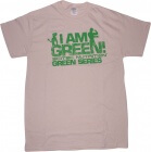 T-shirt Scitec Green series I am Green bege