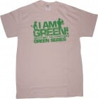 T-shirt Scitec Green series I am Green beige