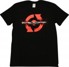 T-shirt Scitec Red 96 Black