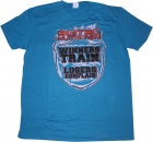 T-shirt Scitec winners train losers complain Azul