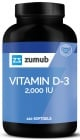 Vitamine D-3 120 softgels