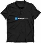 Black Polo Shirt ZUMUB