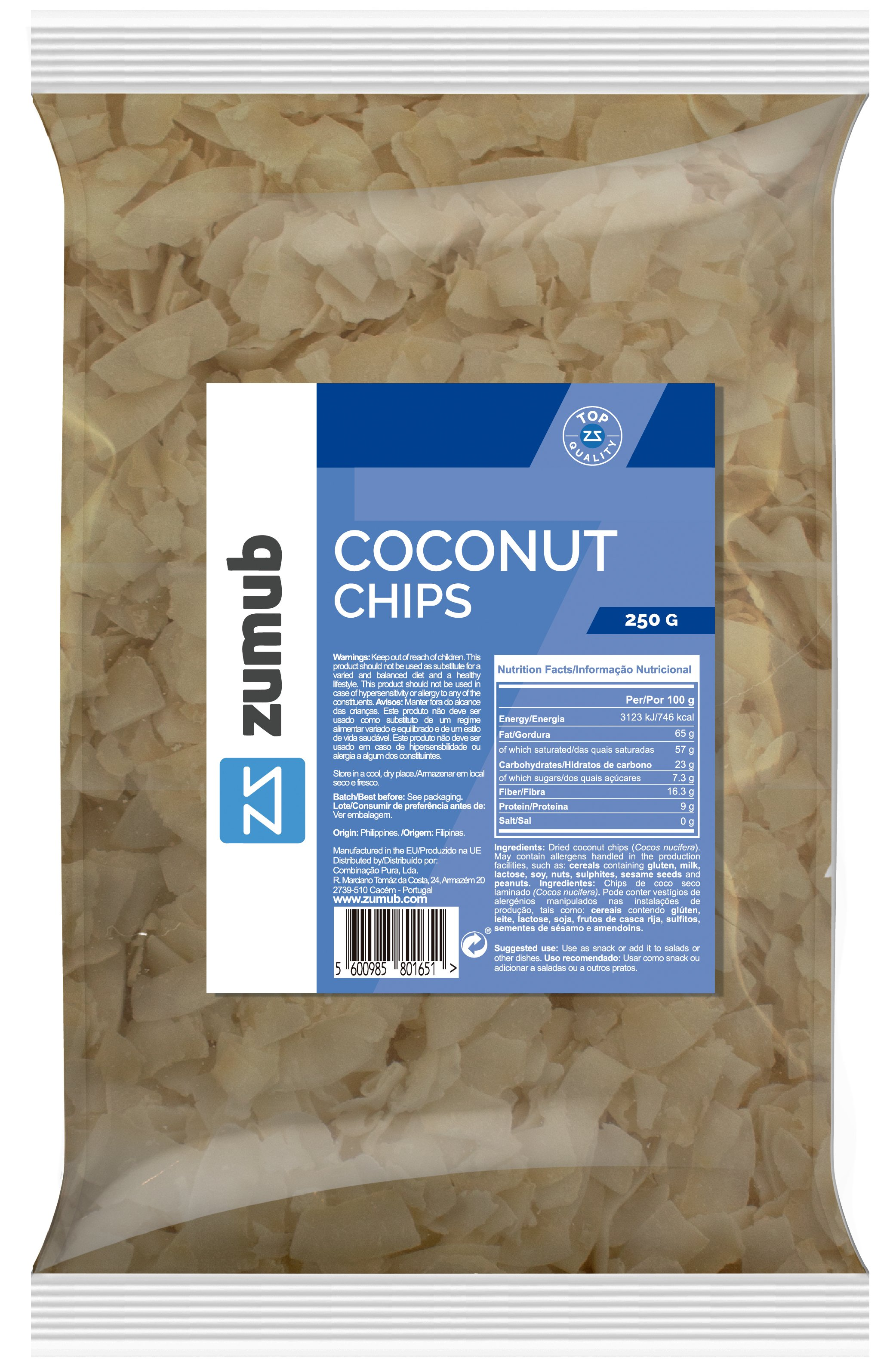 Coconut Chips 250g