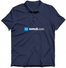 Dark Blue Polo Shirt ZUMUB