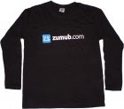 Long Sleeve Black T-Shirt ZUMUB