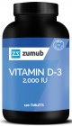 Vitamine D-3 120 tabletten